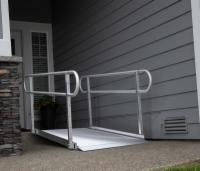 Gateway Ramp with Handrails 6ft